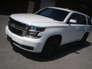 Used 2016 Chevrolet Tahoe 4X4,6 PASSENGER,ACCIDENT FREE,EX POLICE for sale in Mississauga, ON