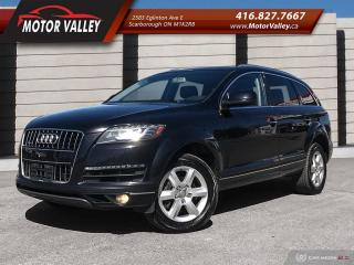 Used 2013 Audi Q7 3.0L TDI Quattro ***Diesel*** AWD 7-Passenger for sale in Scarborough, ON