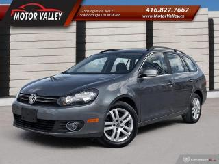 Used 2013 Volkswagen Golf Wagon 2.0 TDI Highline Low KM Clean Vehicle! for sale in Scarborough, ON
