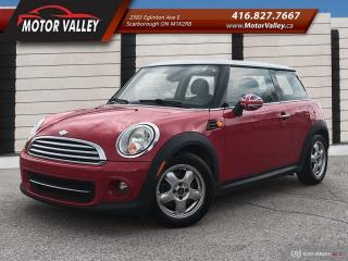 Used 2011 MINI Cooper Hardtop Classic 6MT No Accident Low KM for sale in Scarborough, ON