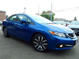 Used 2015 Honda Civic Touring.Navi.Reverse/Blind Spot Cam.Leather.Roof for sale in Kitchener, ON