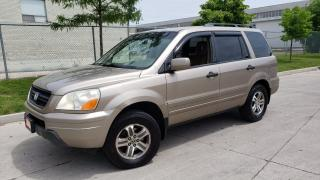 Used 2004 Honda Pilot Automatic, AWD, Leather, 8 passengers, DVD for sale in Toronto, ON
