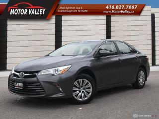 Used 2016 Toyota Camry LE BackUp Camera  No Accident for sale in Scarborough, ON