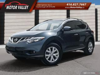 Used 2011 Nissan Murano SL AWD  - NO ACCIDENT Very Clean Vehicle! for sale in Scarborough, ON