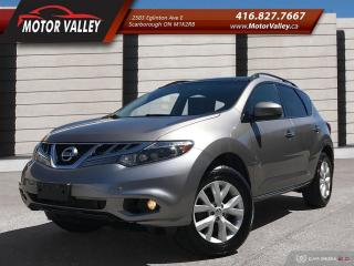 Used 2012 Nissan Murano SL Only 090,718 KM No Accident! for sale in Scarborough, ON