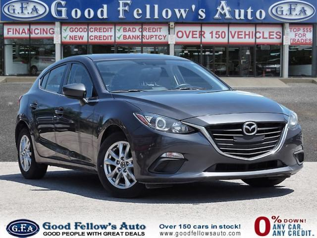 2015 Mazda MAZDA3 GS SPORT MODEL, REARVIEW CAMERA, HEATED SEATS