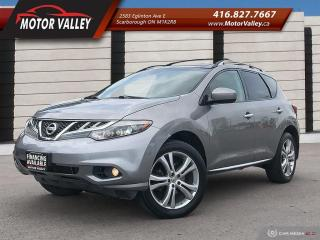 Used 2011 Nissan Murano LE AWD - NAVIGATION - NO ACCIDENT! for sale in Scarborough, ON