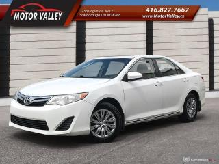 Used 2014 Toyota Camry LE BackUp Camera *Low KM* No Accident. for sale in Scarborough, ON