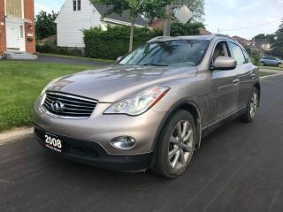 Used 2008 Infiniti EX35 AWD NAVIGATION NO ACCIDENT CLEAN CAR! for sale in Scarborough, ON