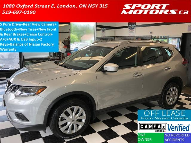 2015 Nissan Rogue S+Camera+Bluetooth+New Tires & Brakes+A/C
