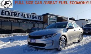 Used 2016 Kia Optima LX WITH SPORT & ECO MODE!! for sale in Barrie, ON