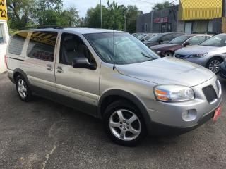 Used 2007 Pontiac Montana 1SB/ EXTENDED/ CAPTAIN SEATS/ ALLOYS/ PWR SEAT! for sale in Scarborough, ON