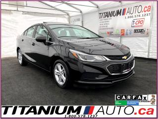Used 2016 Chevrolet Cruze LT+Camera+Sunroof+Blind Spot+Lane Assist+Heated Se for sale in London, ON