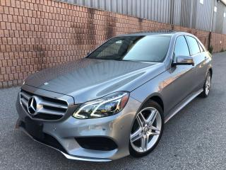 Used 2014 Mercedes-Benz E-Class E350-4MATIC-AMG PKG-NAVI-360 CAMERAS-1 OWNER for sale in Toronto, ON
