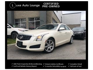 Used 2014 Cadillac ATS RWD, BOSE AUDIO, BALANCE OF EXTENDED WARRANTY!! for sale in Orleans, ON