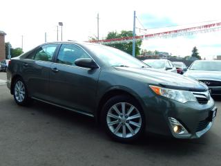 Used 2012 Toyota Camry XLE.Navigation.Camera.Leather.Roof.One Owner.121km for sale in Kitchener, ON