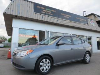 Used 2010 Hyundai Elantra ALL POWERED,HEATED SEATS,A/C,CERTIFIED,1 OWNER for sale in Mississauga, ON