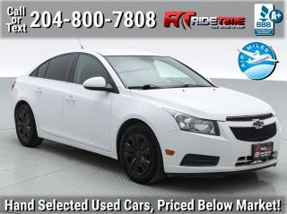 Used 2014 Chevrolet Cruze 1LT for sale in Winnipeg, MB