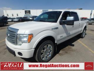 Used 2012 Ford F150 PLATINUM SUPERCREW LWB 4WD 3.5L for sale in Calgary, AB