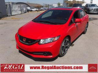 Used 2015 Honda Civic SI 4D Sedan 6SP 2.4L for sale in Calgary, AB