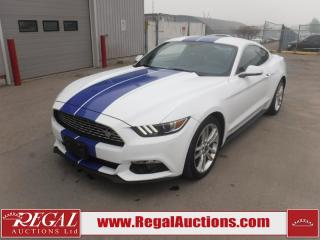 Used 2016 Ford MUSTANG ECO 2D COUPE RWD 2.3L for sale in Calgary, AB