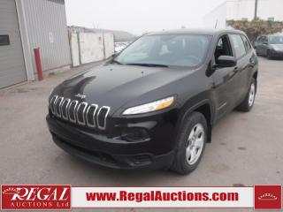 Used 2016 Jeep Cherokee Sport 4D Utility 4WD 2.4L for sale in Calgary, AB