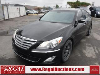 Used 2012 Hyundai GENESIS 3.8L W/TECHNOLOGY 4D SEDAN RWD 3.8L for sale in Calgary, AB