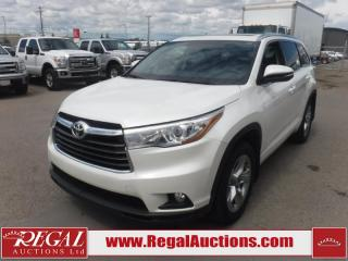 Used 2016 Toyota HIGHLANDER LIMITED 4D UTILITY AWD 7PASS 3.5L for sale in Calgary, AB
