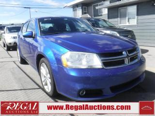 Used 2013 Dodge Avenger SXT 4D Sedan for sale in Calgary, AB