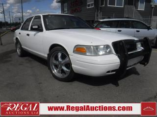 Used 2010 Ford CROWN VICTORIA POLICE INTERCEPTOR SEDAN 4D RWD for sale in Calgary, AB