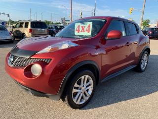 Used 2011 Nissan Juke SV/AWD/1.6T/NO ACCIDENT/SAFETY INCLUDED for sale in Cambridge, ON