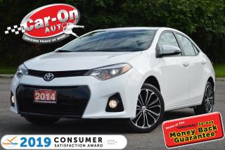 Used 2014 Toyota Corolla S SUNROOF REAR CAM 48,000 KM HTD SEATS for sale in Ottawa, ON