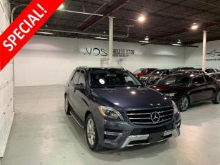 Used 2013 Mercedes-Benz ML-Class ML 350 BlueTEC 4MATIC - No Payments For 6 Months** for sale in Concord, ON