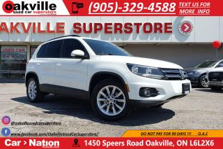 Used 2015 Volkswagen Tiguan SPECIAL EDITION AWD | PANO ROOF | NAVI | B/U CAM for sale in Oakville, ON