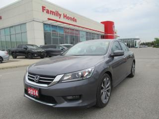 Used 2014 Honda Accord Sport for sale in Brampton, ON