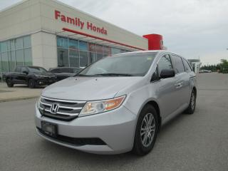 Used 2012 Honda Odyssey EX w/Rear Entertainment System! for sale in Brampton, ON