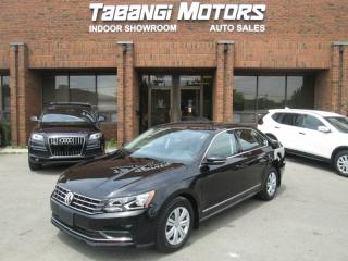 Used 2017 Volkswagen Passat BIG SCREEN | REAR CAM | HEATED SEATS | 1.8 TSI | B\T for sale in Mississauga, ON
