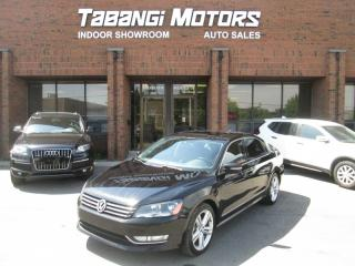 Used 2013 Volkswagen Passat TDI | HIGHLINE | BIG SCREEN | SPORT | LEATHER | SUNROOF | BT for sale in Mississauga, ON