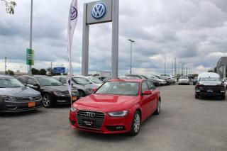 Used 2014 Audi A4 2.0 Komfort for sale in Whitby, ON
