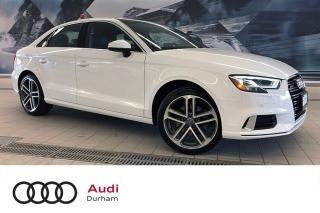 Used 2018 Audi A3 2.0T Progressiv + LED | Nav | Pano Roof for sale in Whitby, ON