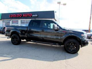 Used 2014 Ford F-150 FX4 SuperCrew 3.5L 4WD NAVIGATION CAMERA CERTIFIED for sale in Milton, ON