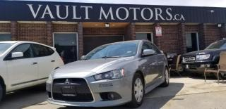 Used 2012 Mitsubishi Lancer NO ACCIDENTS LOTS OF SERVICE RECORDS for sale in Brampton, ON