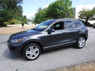Used 2012 Volkswagen Touareg TDI Sport Diesel for sale in Burnaby, BC