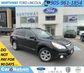 Used 2014 Subaru Outback Limited | AWD | NAV | HTD LEATHER | SUNROOF | for sale in Brantford, ON
