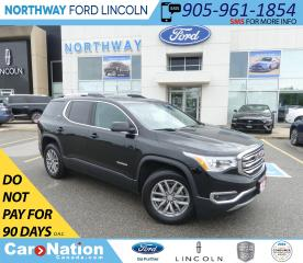 Used 2018 GMC Acadia SLE-2 | HTD SEATS | BACK UP CAM | 3 ROW | for sale in Brantford, ON