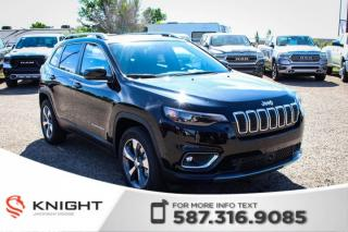 New 2019 Jeep Cherokee Limited 4x4 V6 | Sunroof | Navigation for sale in Medicine Hat, AB