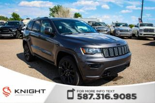 New 2019 Jeep Grand Cherokee Altitude V6 | Sunroof | Navigation for sale in Medicine Hat, AB
