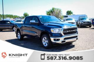 New 2019 RAM 1500 Big Horn Crew Cab | Heated Seats and Steering Wheel | Remote Start for sale in Medicine Hat, AB