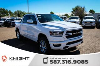 New 2019 RAM 1500 Big Horn Crew Cab | Heated Seats and Steering Wheel | Navigation | Remote Start for sale in Medicine Hat, AB