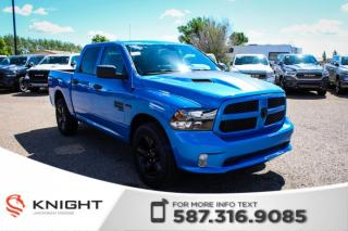 New 2019 RAM 1500 Classic Express Blackout Crew Cab for sale in Medicine Hat, AB